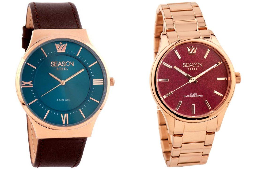 Ο Ρυθμός 974 Χανιά σας δίνει την ευκαιρία κάθε εβδομάδα να κερδίσετε ένα μοντέρνο ανδρικόή γυναικείο ρολόι season time!