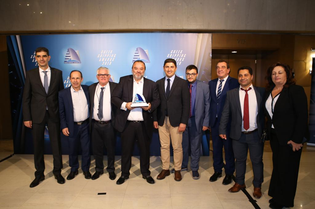 """Ship of the year 2019"" το WORLDCHAMPION JET της SEAJETS  στα Lloyd's List Greek Shipping Awards 2019"