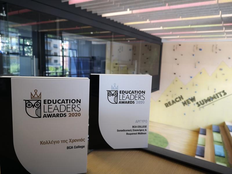 Education Leaders Awards: TO BCA ΒΡΑΒΕΥΘΗΚΕ ΩΣ «ΚΟΛΛΕΓΙΟ ΤΗΣ ΧΡΟΝΙΑΣ»
